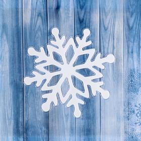 "The sticker on the glass ""snowflake White"" with diamonds"