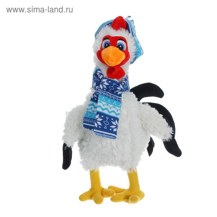 """Мягкая игрушка """"Курочка"""" в шапочке и шарфике"""