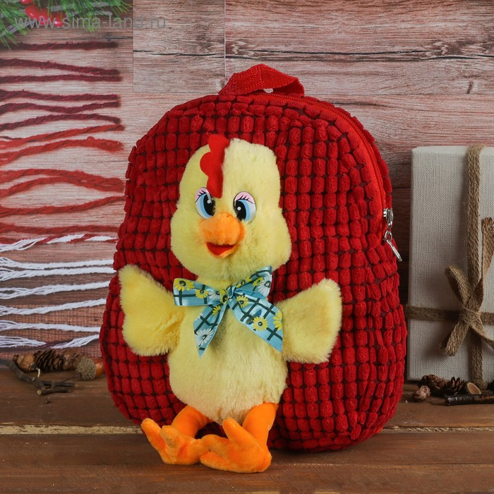 "Мягкий рюкзак ""Цыплёнок"""