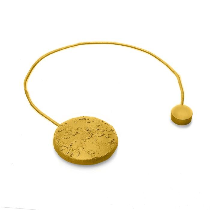 Подхват для штор «Круг», цвет золотой