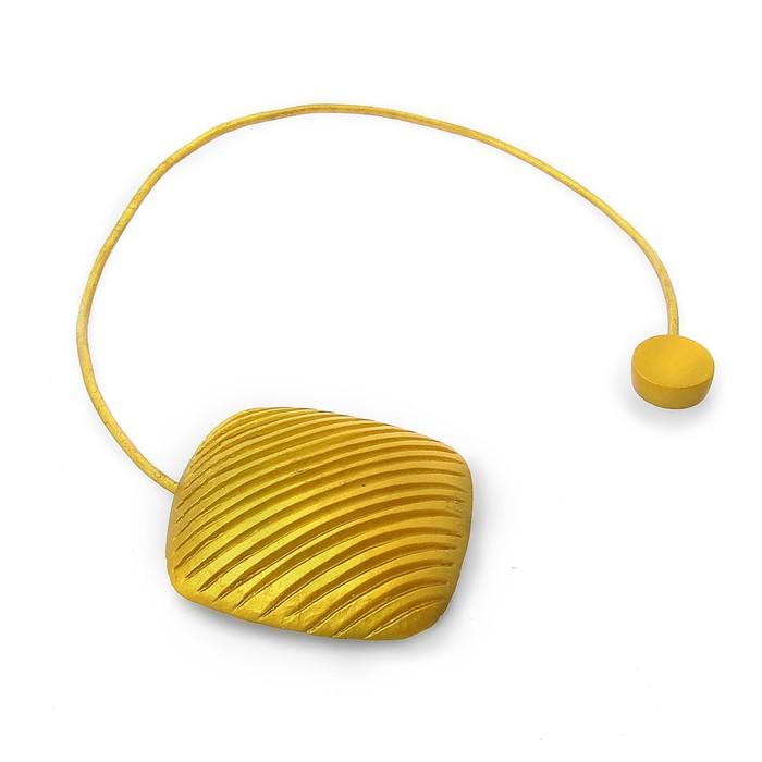 Подхват для штор «Квадрат», цвет золотой