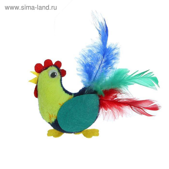 """Мягкий магнит """"Заводной петушок"""""""