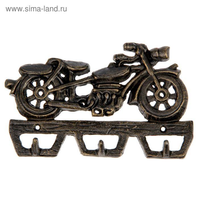 """Крючки декоративные """"Мотоцикл с клаксоном"""""""