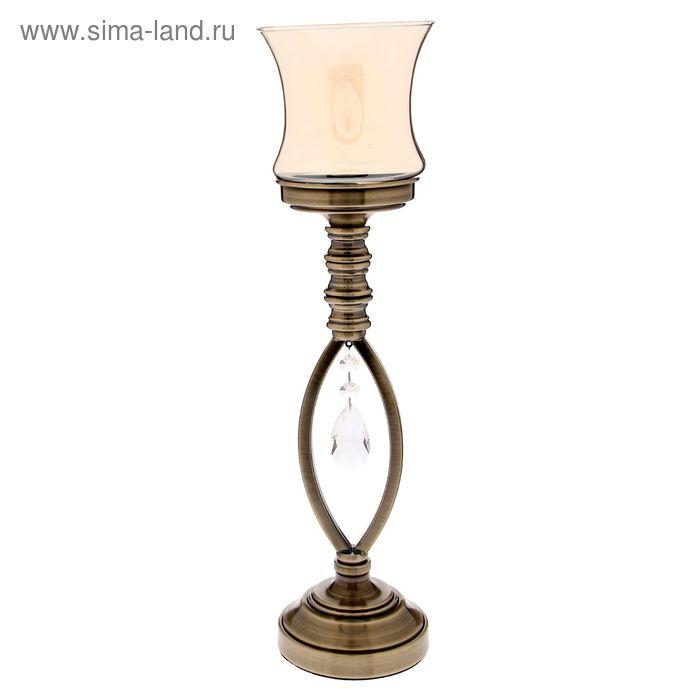 """Подсвечник на 1 свечу """"Герцог"""" под латунь"""