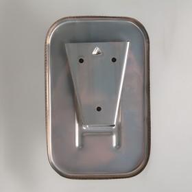 Диспенсер для антисептика/жидкого мыла механический, 850 мл, нержавеющая сталь - фото 1635569