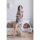 Сарафан женский для беременных, размер 46, рост 168, цвет розовый (арт. 0313)