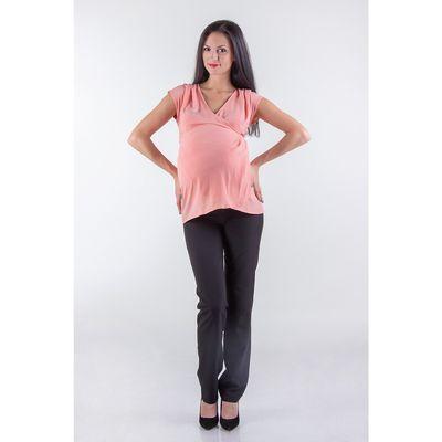 Туника женская для беременных, размер 50, рост 168, цвет персиковый (арт. 0370)