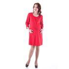 Платье женское для беременных, размер 50, рост 168, цвет красный (арт. 0332)