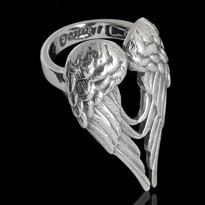 """Кольцо """"Энжи"""", размер 18, цвет чернёное серебро"""