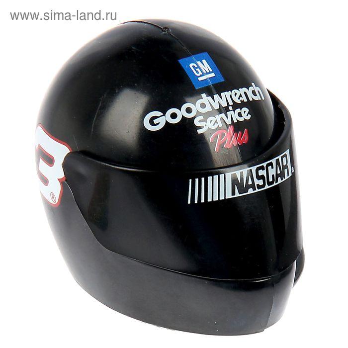 """Сувенир-кругл """"NASCAR Шлем черный"""""""