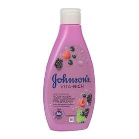 Гель для душа Johnson's body care Vita-Rich, восстанавливающий, с экстрактом лесных ягод, 250 мл