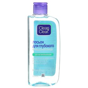 Лосьон для глубокого очищения лица Clean&Clear, для чувствительной кожи, 200 мл