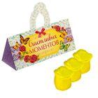 """Мыльные лепестки в коробке-сумочке """"Счастливых моментов"""", 3 шт."""