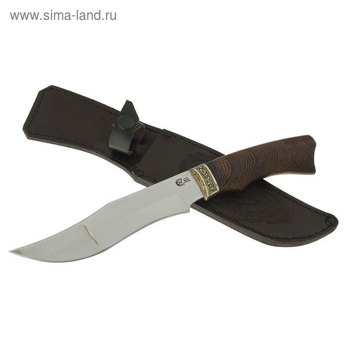 """Нож нескладной """"Муромец"""", кованная сталь 95х18, рукоять-венге, литье"""