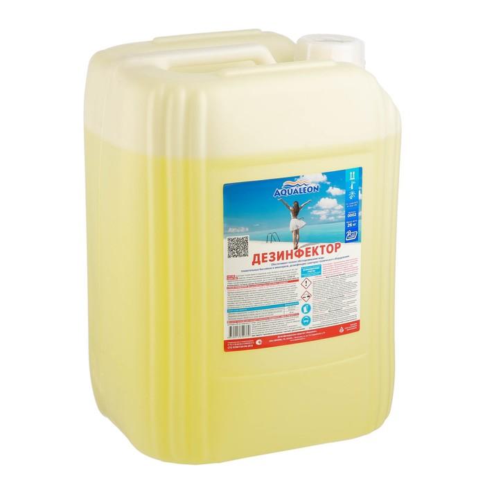 Дезинфицирующее средство для бассейна Aqualeon, 20 л (26кг) (стаб. хлор)