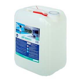 Регулятор pH-минус Aqualeon жидкое средство, 10 л (12 кг)