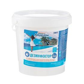 Быстрый стабилизированный хлор Aqualeon, таблетки по 200 г, 1 кг Ош