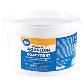 Коагулянт Aqualeon таб. 25 гр., 1,5 кг Ош