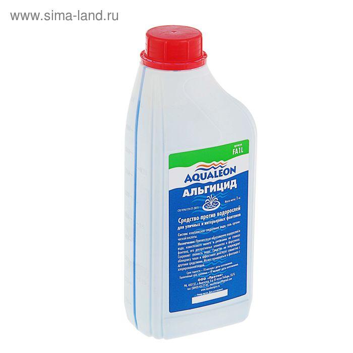 Альгицид Aqualeon для фонтанов непенящийся, 1 л