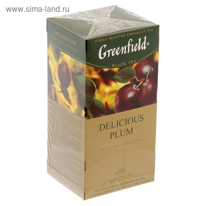 Чай Гринфилд Delicate Plam black tea 25п*1,5 гр.