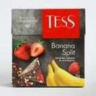 Чай Tess пирамидки Banana Split, black tea, 20п*1,8 гр.