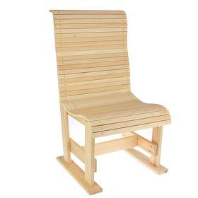 Кресло 'Русич' 60х60х113см, липа 'Добропаровъ' Ош