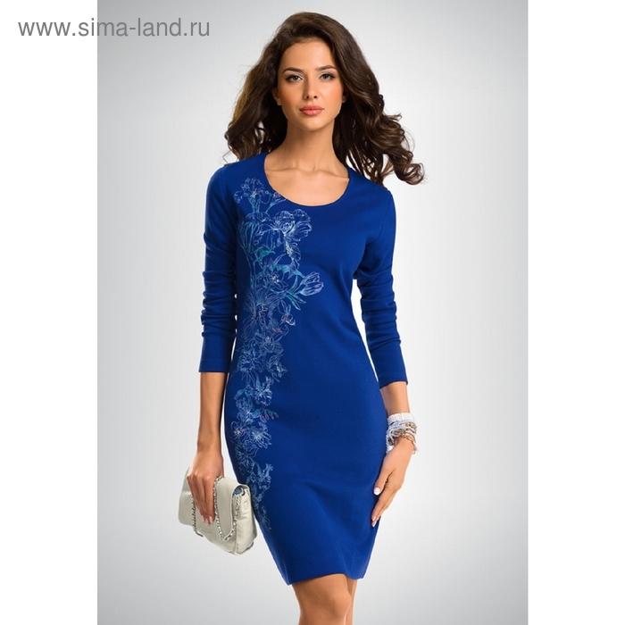 Платье женское, размер XS, цвет синий FDJ656