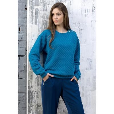 Джемпер женский, размер XS, цвет лазурный DJ682