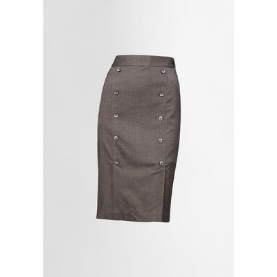 Юбка женская, размер XS, цвет светло-коричневый