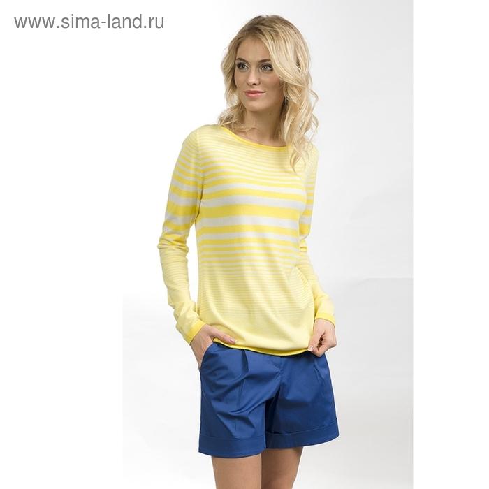 Джемпер женский, размер M, цвет жёлтый KJ681