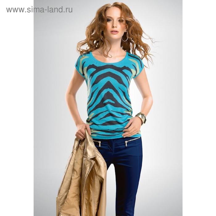 Джемпер женский, размер XS, цвет голубой KT655
