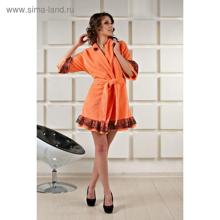 Халат женский Bony, размер M, цвет персиковый