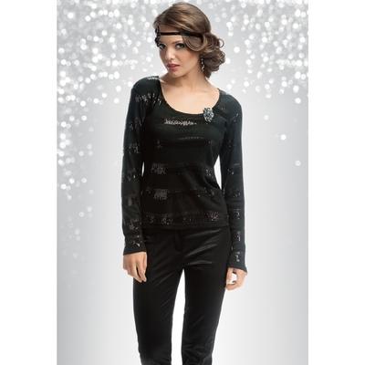 Джемпер женский, размер XS, цвет чёрный FJ577