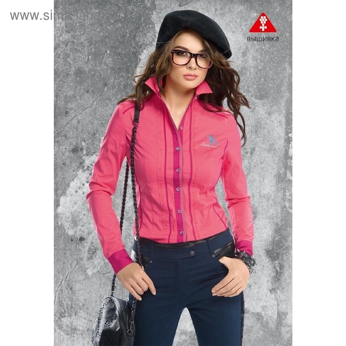 Блузка женская, размер XL, цвет розовый  FWJX1111/1