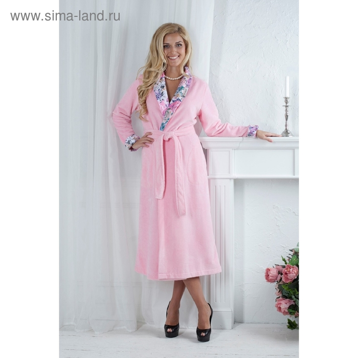 Халат женский Rozaly, размер L/XL, цвет розовый 447