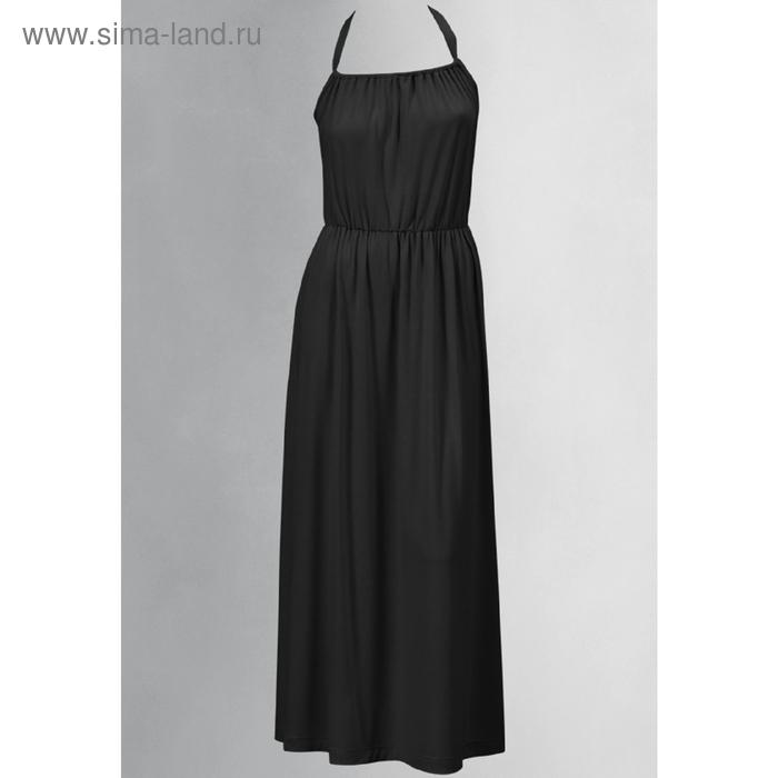 Платье женское, размер S, цвет чёрный FDV598