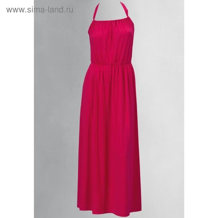 Платье женское, размер S, цвет малиновый FDV598