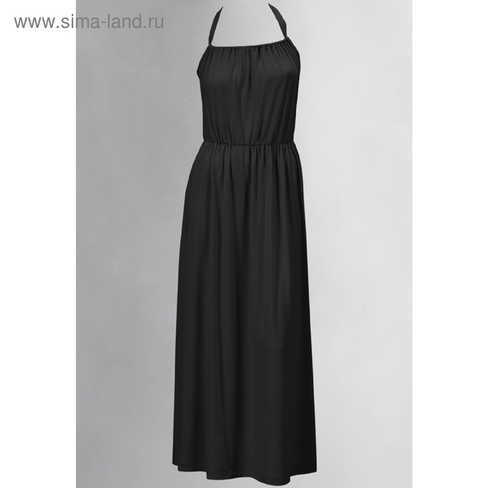 Платье женское, размер М, цвет чёрный FDV598