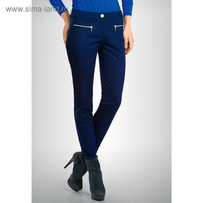 Брюки женские, размер XL, цвет тёмно-синий FWP654