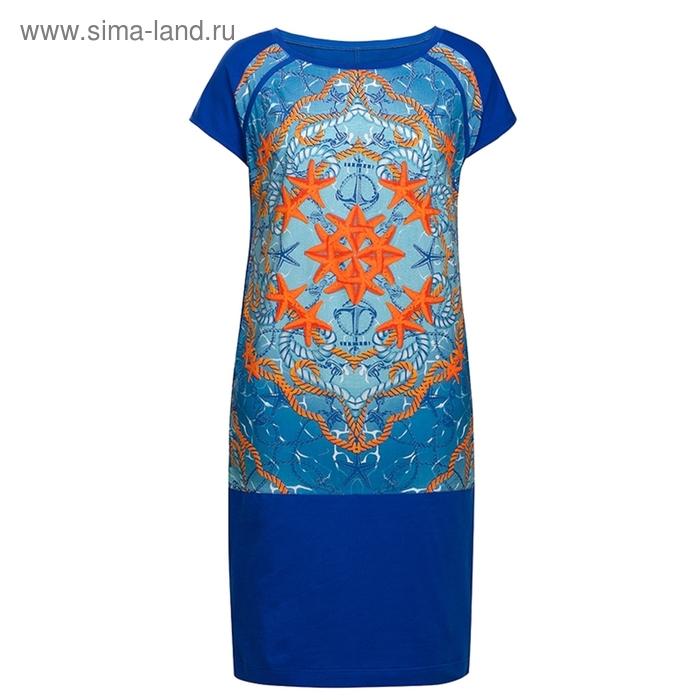 Платье женское, размер XS, цвет джинсовый