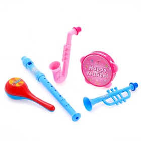 """A set of musical instruments """"Cartoon Band-2"""", 5 items"""