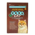 """Мультивитаминное лакомство GOOD CAT для кошек """"Крепкий иммунитет"""" с ламинарией 90 табл."""