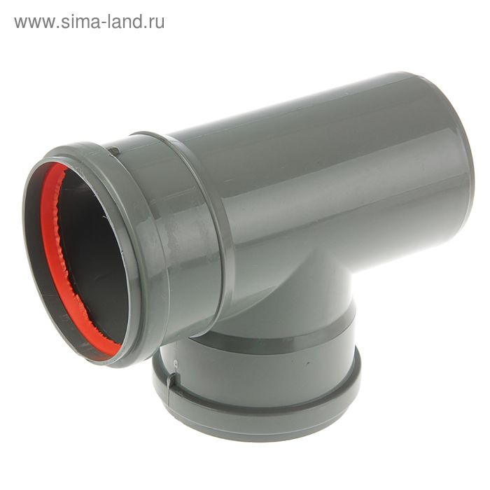 Тройник канализационный, 110 х 110 мм, 90°