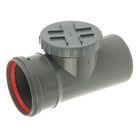 Ревизия канализационная, 110 мм, с крышкой