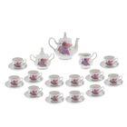 """Сервиз чайный на 12 персон """"Романс. Сирень"""", 27 предметов"""