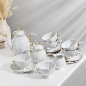Сервиз чайный «Елена», 15 предметов