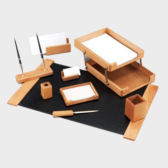 Набор настольный Good Sunrise K9D-1 деревянный 9 предметов