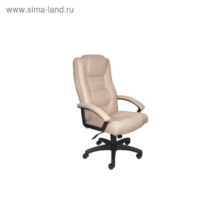 Кресло руководителя T-9906AXSN/F10 бежевый, искусственный нубук