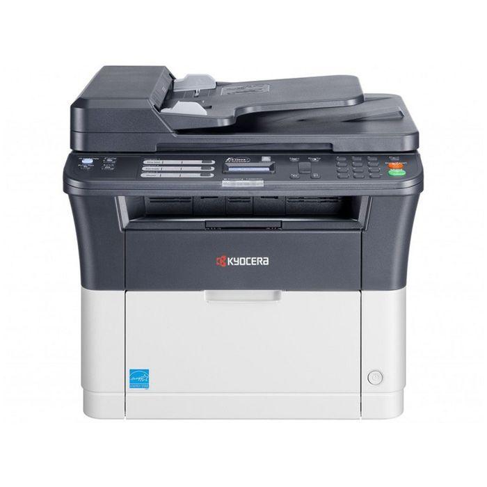 МФУ, лазерная черно-белая печать Kyocera FS-1025MFP, А4, Duplex