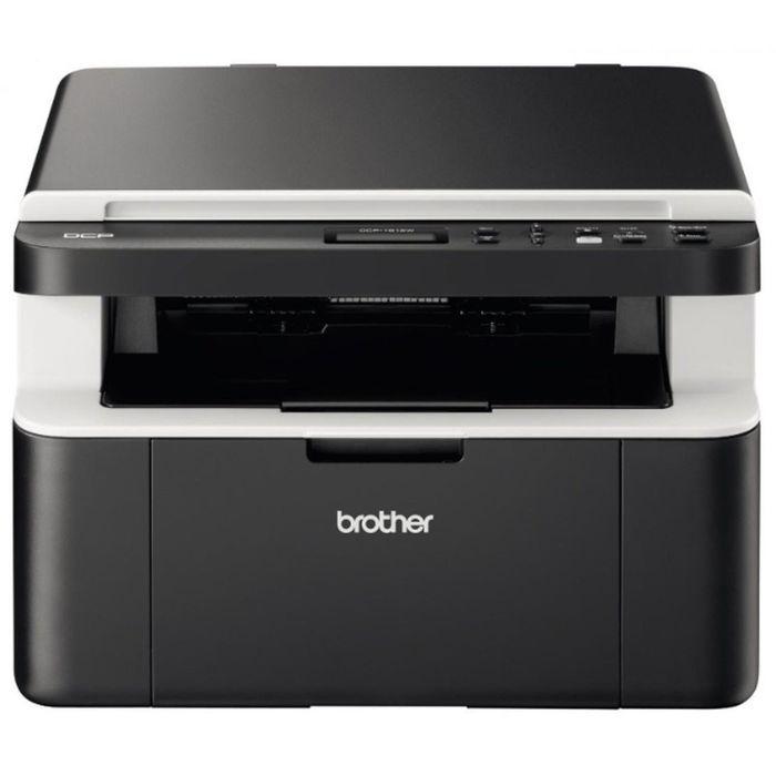 МФУ, лазерная черно-белая печать Brother DCP-1612WR, А4, WiFi